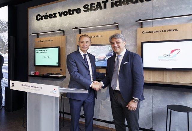 Cooperación entre Seat y la Asociación Francesa de Gas Natural para Vehículos