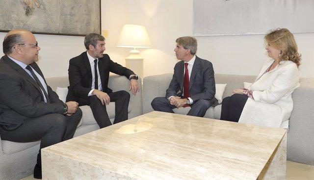 Reunión entre Madrid y Canarias con sus presidentes autonómicos