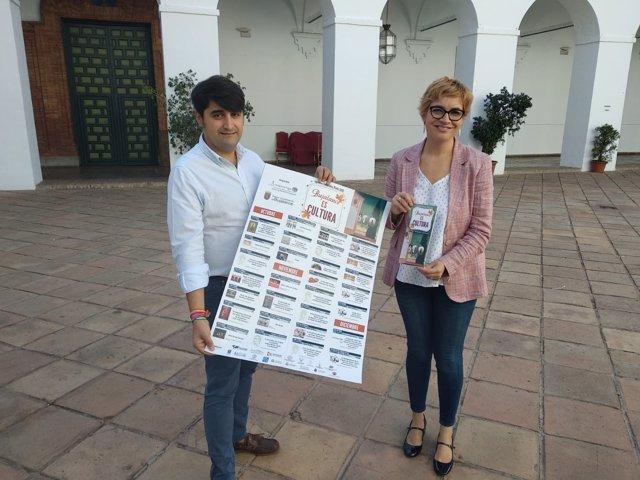 Ruz y Pavón presentan las Jornadas Culturales de Otoño de Bujalance