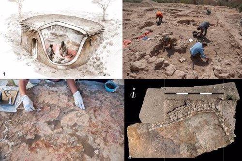 Detalle de las excavaciones