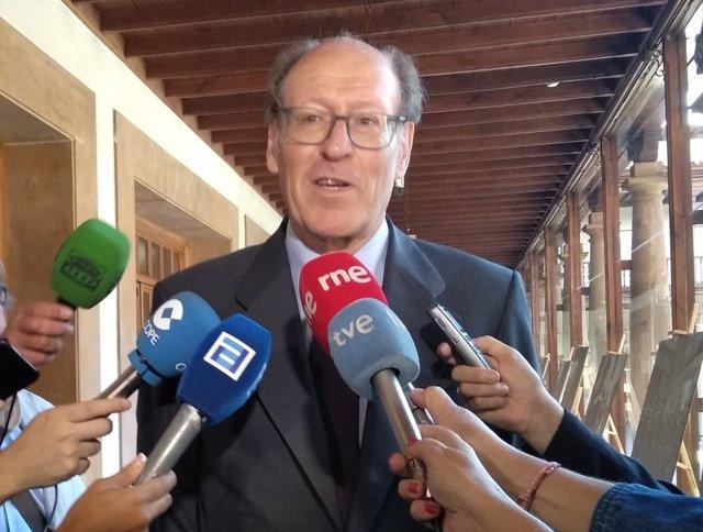 Rufino Orejas, presidente de Química del Nalón.