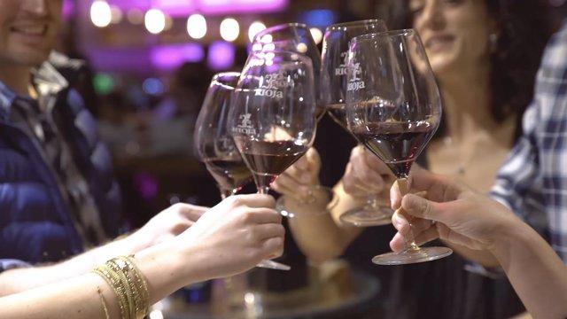 Copas de vino de Rioja