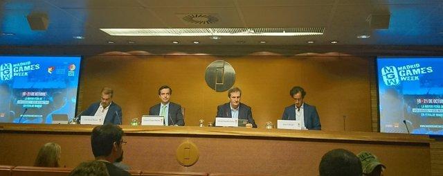 Presentación de Madrid Games Week en Ifema