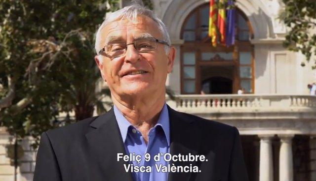 Mensaje del alcalde para el Día de la Comunitat