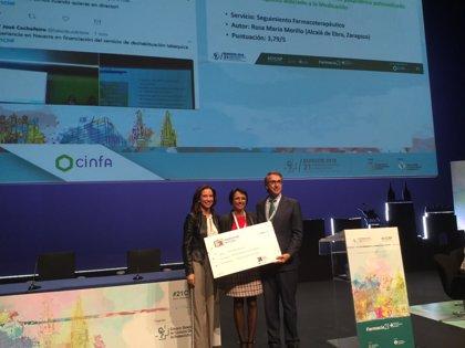 Rosa Mª Morillo, ganadora de los Premios Foro de Atención Farmacéutica en Farmacia Comunitaria