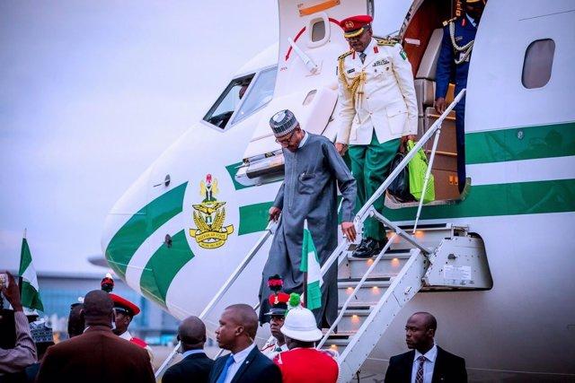 El presidente de Nigeria, Mahammadu Buhari