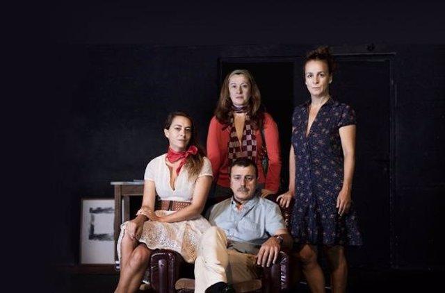 Imagen de la obra de teatro 'Los años rápidos'.