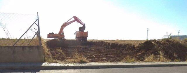 Obras nuevo CEIP en Almendralejo