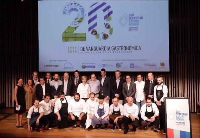 Presentación de San Sebastián Gastronomika 2018.