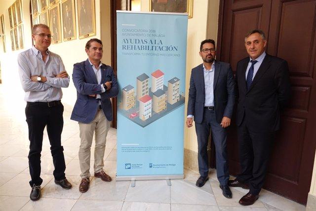 Presentación de ayudas a la rehabilitacion Ayuntamiento de Málaga