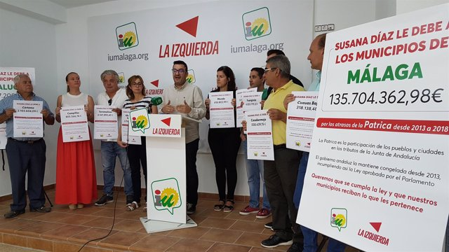 Iu Inciia Campaña Reclamando A Susana Diaz La Deuda Con Los Ayuntamientos