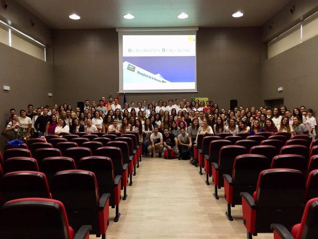 Nota Prensa Ags Serranía De Málaga Inicio Prácticas Alumnado Grado De Enfermería