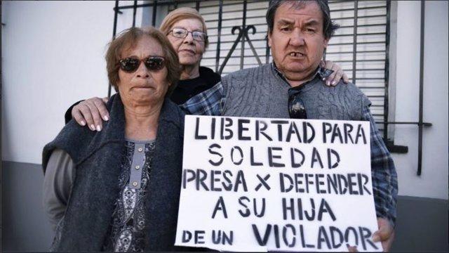 Familiares de Soledad Magdalena