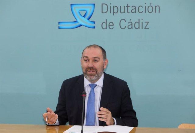 Jesús Solís, diputado provincial de Servicios Económicos