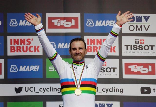 Alejandro Valverde Mundial Innsbruck campeón