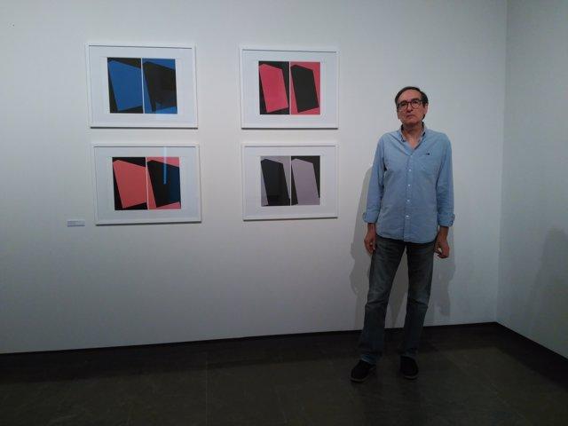 El artista Martín Noguerol