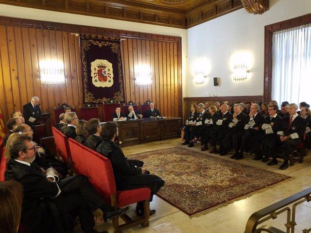 De la Oliva preside la apertura del Año Judicial 2018-2019