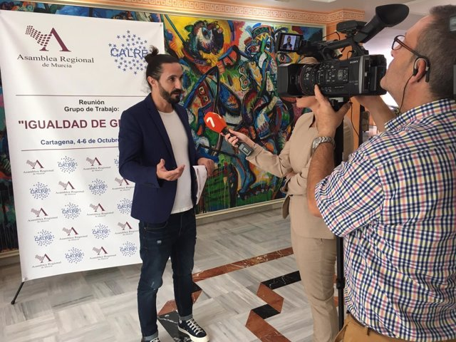 Baltasar Picornell asiste en Murcia a unas jornadas sobre igualdad de género