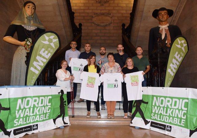 Presentación del nuevo programa de Nordic Walking Saludable