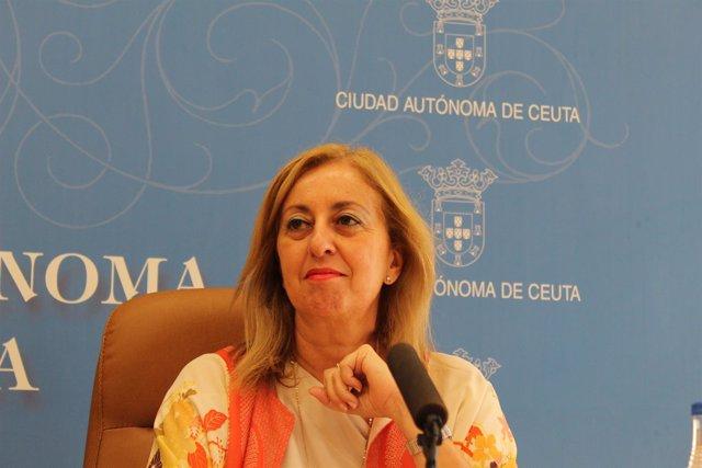 Nieto, consejera de Sanidad, Asuntos Sociales, Menores e Igualdad en Ceuta