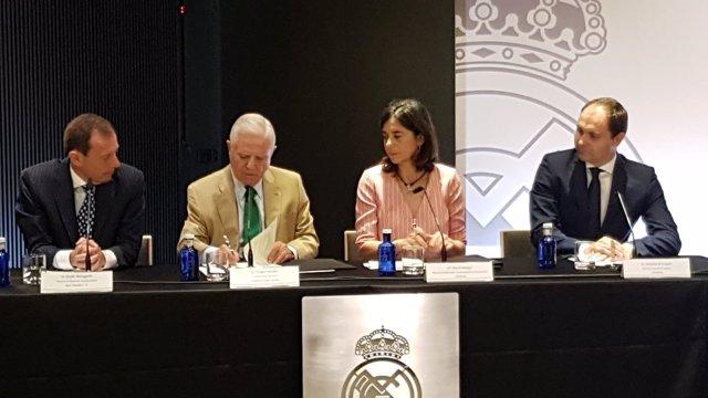 Liberbank renueva su acuerdo con la Fundación Real Madrid