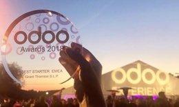 Galardón de Grant Thornton en los premios Odoo
