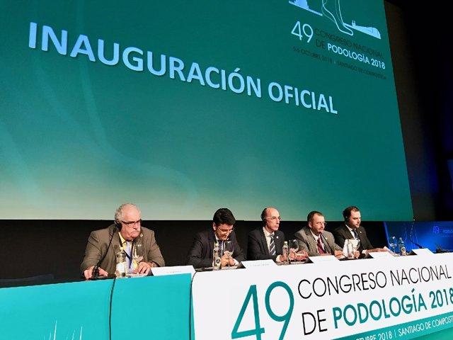 Inauguración del 49 Congreso Nacional de Podología