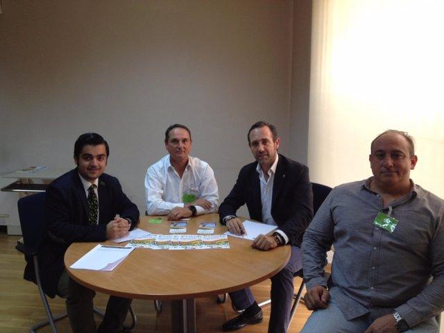 Sociedad Cívica Balear se reúne con Bauzá