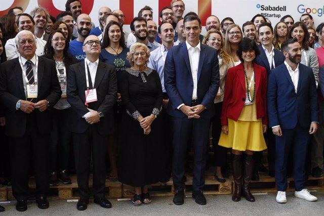 El presidente del Gobierno, Pedro Sánchez, clausura el South Summit 2018 en Madr