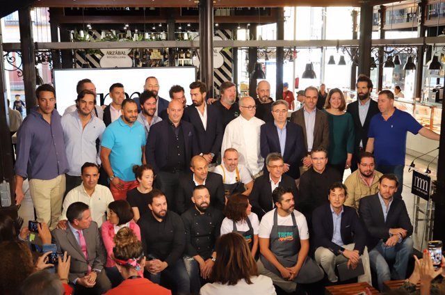 Chefs del Mercado de San Miguel