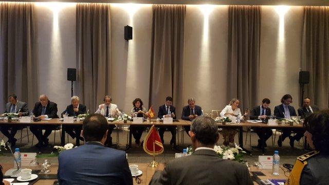 Marruecos y España analizan la Operación Paso del Estrecho 2018