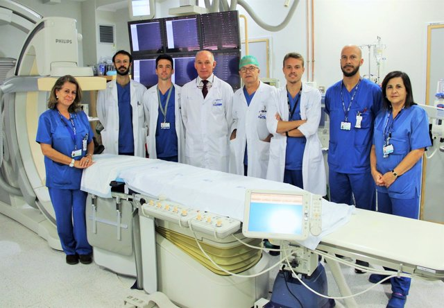 La unidad de Neurorradiología del Hospital Clínico San Carlos
