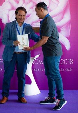 Antonio Vila, de Fundación Universo Accesible recibe un premio