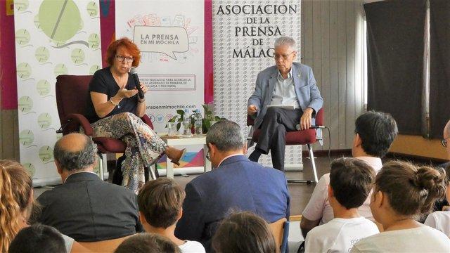Villacastín y Ariza en el ciclo Press Club