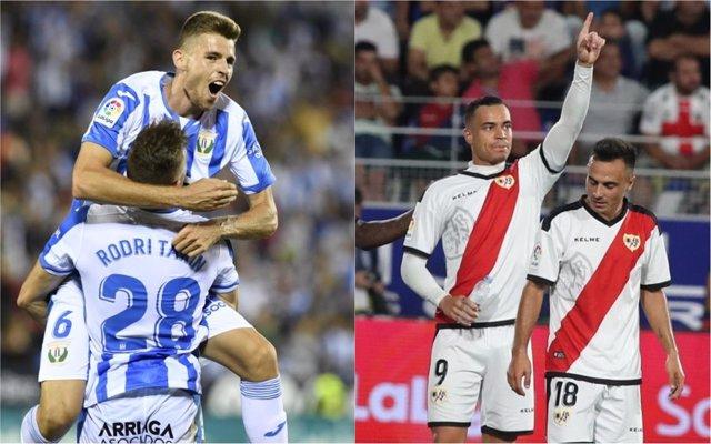 Gumbau y Raúl de Tomás - Leganés y Rayo se miden en Butarque