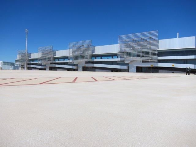 Aeropuerto de Corvera desde el exterior