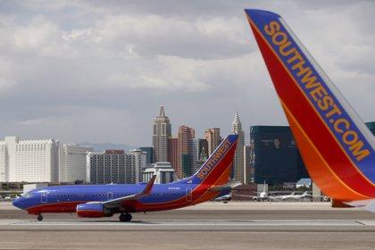 Southwest transporta un 4% más de pasajeros hasta septiembre