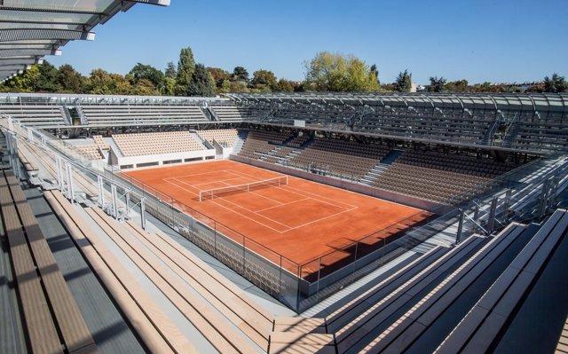 Roland Garros termina las obras de su nueva pista, la Simonne-Mathieu