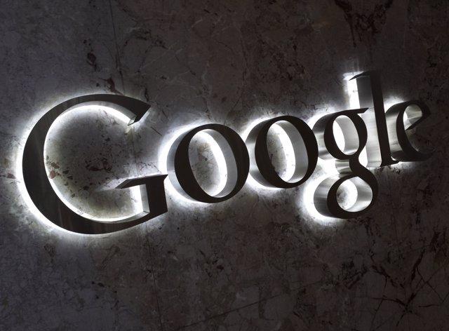 Foto de archivo del logo de Google