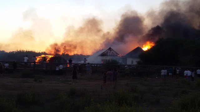 Incendio registrado