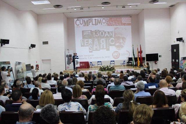 Acto de conmemoración del 130 aniversario de UGT