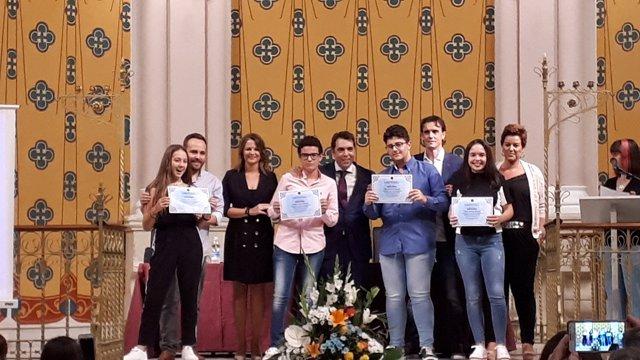 Inauguración del curso del Colegio San Joaquín de Linares