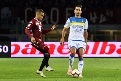 El Frosinone cae frente al Torino y sigue en descenso