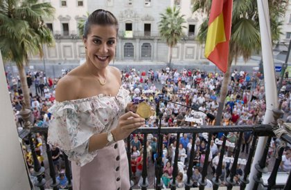 """Huelva recibe a Carolina Marín como """"la reina del bádminton mundial"""""""