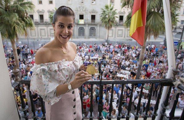 La deportista Carolina Marín