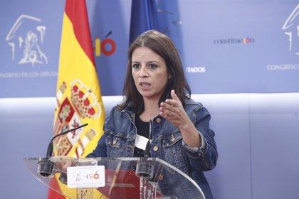"""Adriana Lastra avanza que """"en muy poquitos días"""" el Gobierno podrá derogar """"la parte más lesiva de la reforma laboral"""""""