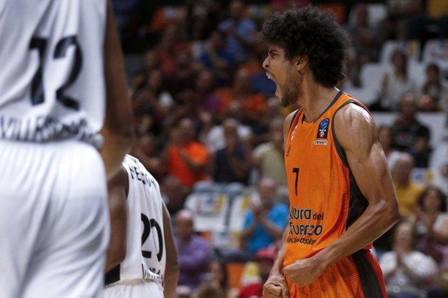 El Jugador De Valencia Basket Louis Labeyrie