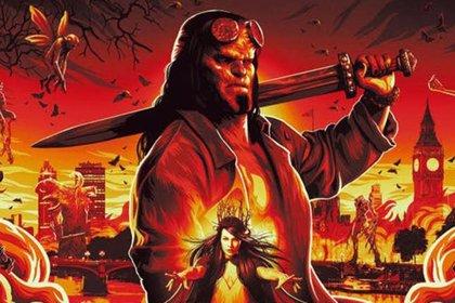Épico póster y primer vistazo al elenco del reboot del nuevo Hellboy