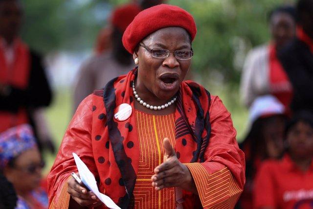 El exministra nigeriana Obiageli Ezekwesili, cofundadora de Bring Back Our Girls