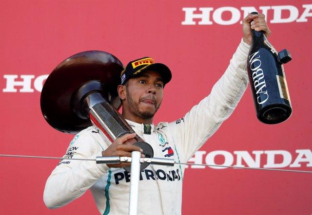 Lewis Hamilton Japón Suzuka